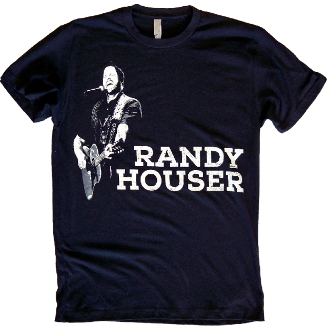 Randy Houser 2015 Black Tour Tee